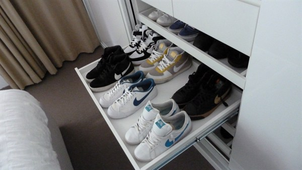 Image Result For Slide Out Shoe Shelves